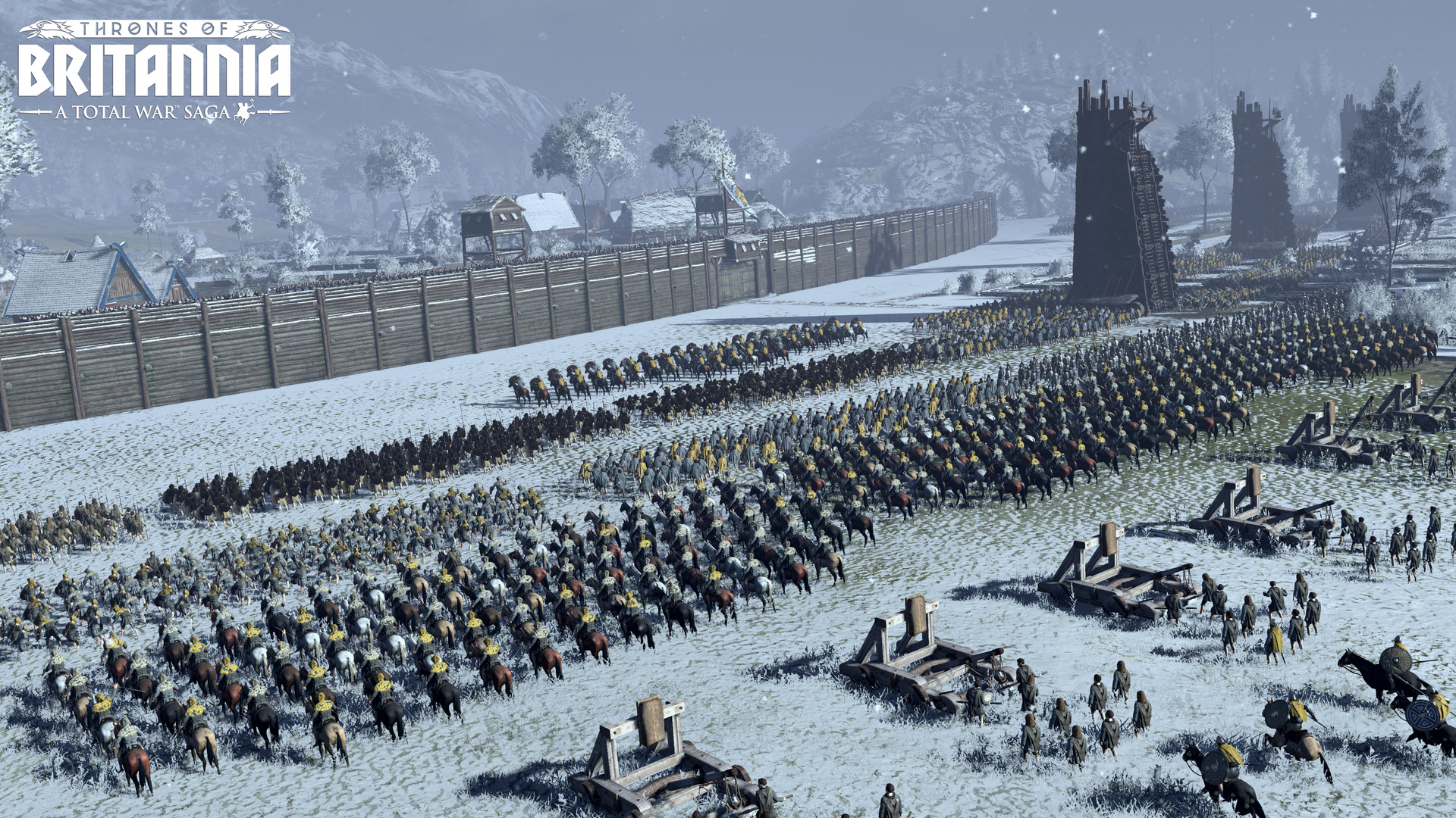 Скриншот 0 - Total War Saga: Thrones of Britannia+ Blood, Sweat and Spears – Оффлайн Активация