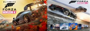 Forza Horizon 3 Platinum+FORZA HORIZON 4 Ultimate+ONLINE (Region Free)