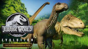 Jurassic World Evolution Deluxe+ВСЕ DLC [оффлайн активация]