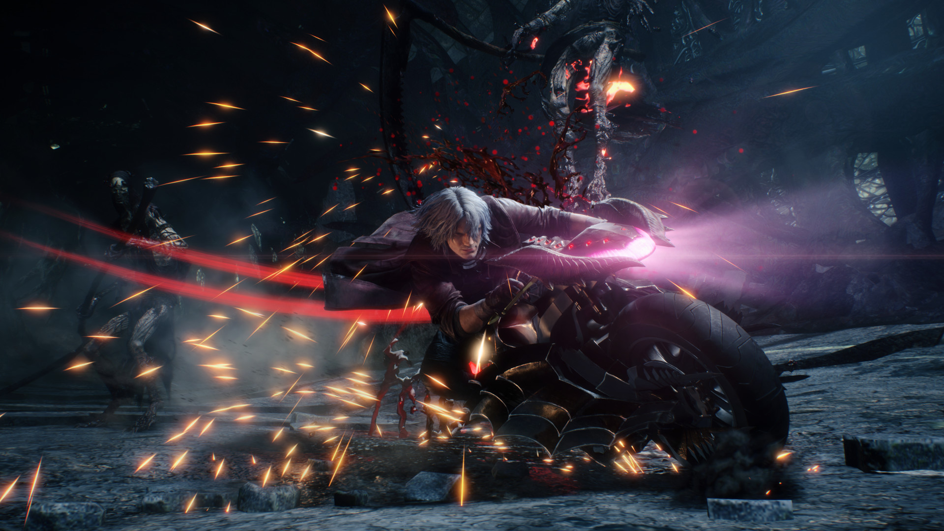 Скриншот 0 - Devil May Cry 5  Deluxe Edition ключ для STEAM