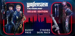 Ключ Wolfenstein: Young Blood Deluxe Edition для STEAM