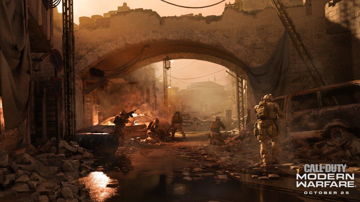 Скриншот 0 - Call of Duty: Modern Warfare АРЕНДА (СЮЖЕТ) (RUS текст+озвучка) ( игра в battle.net)