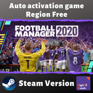 Football Manager 2020 [АВТОАКТИВАЦИЯ]+In-Game Editor+Бонус предзаказа (Region Free)[Оффлайн аккаунт Steam ]