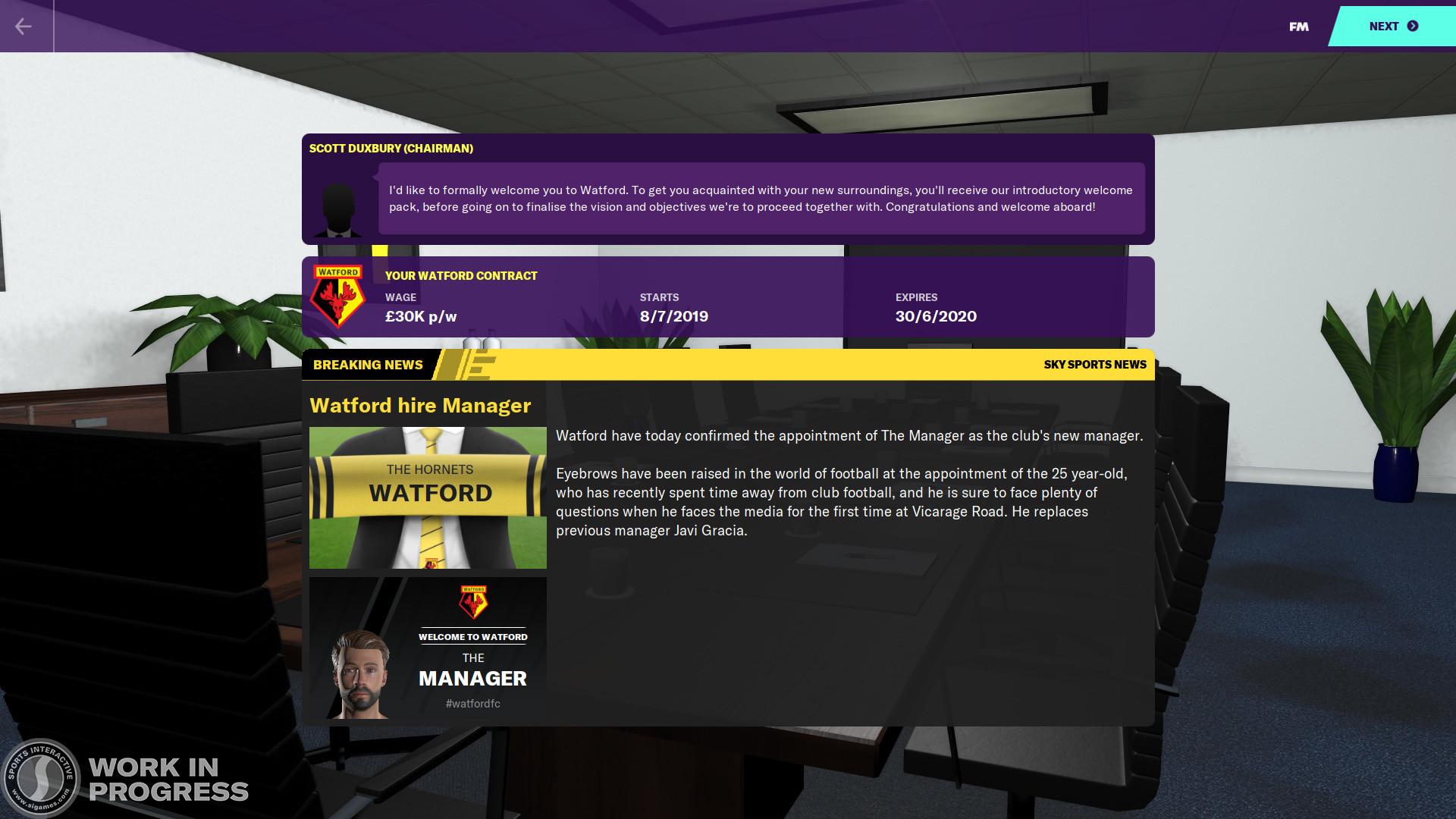 Скриншот 0 - Football Manager 2020 [АВТОАКТИВАЦИЯ]+In-Game Editor+Бонус предзаказа (Region Free)[Оффлайн аккаунт Steam ]