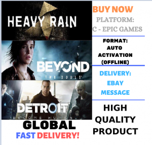 DETROIT: BECOME+Beyond: Two Souls+Heavy Rain [АВТОАКТИВАЦИЯ] PC (Region Free)