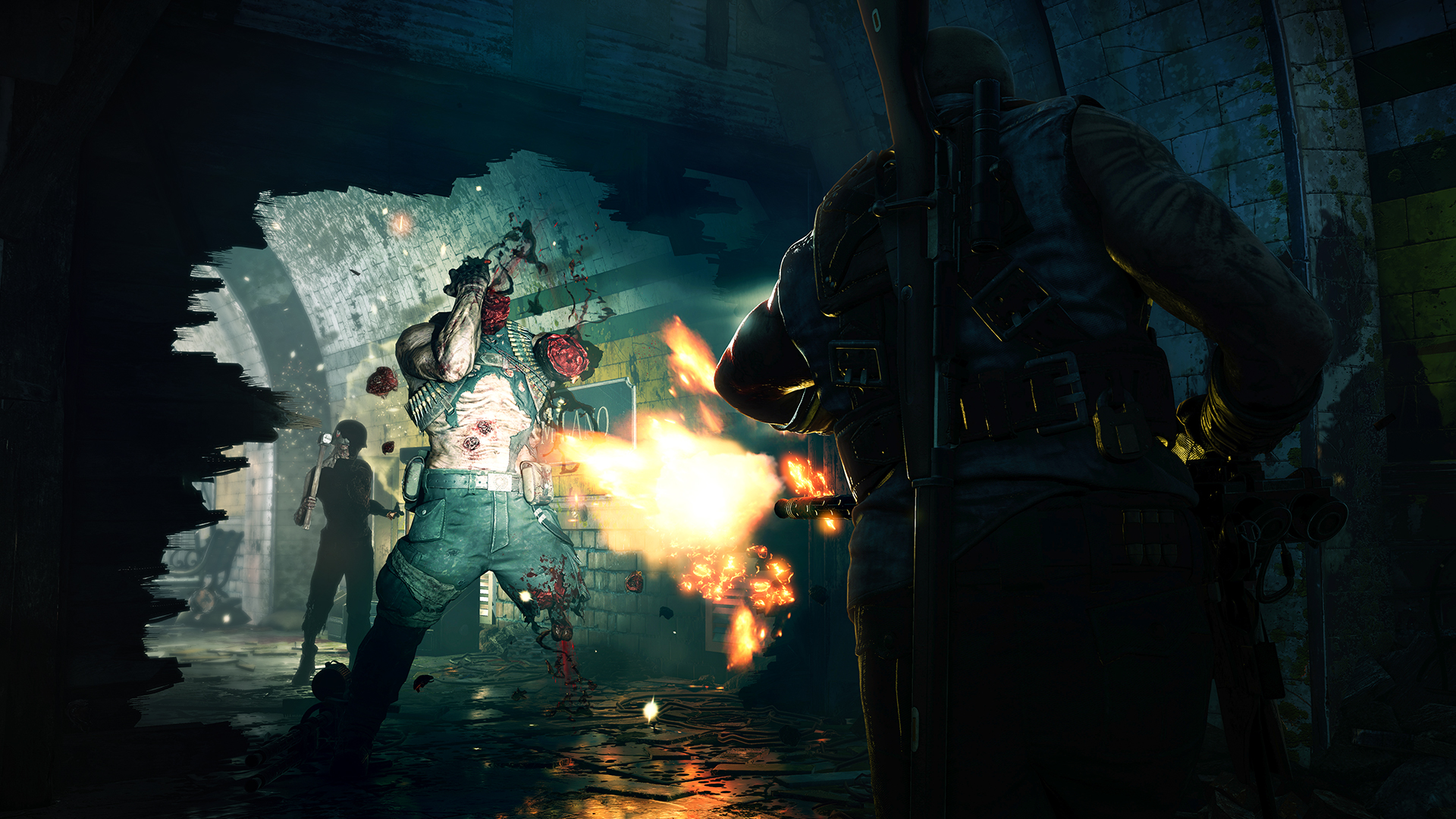 Скриншот 0 - Zombie Army 4: Dead War Super Deluxe+АВТОАКТИВАЦИЯ🔴 Epic Games Store