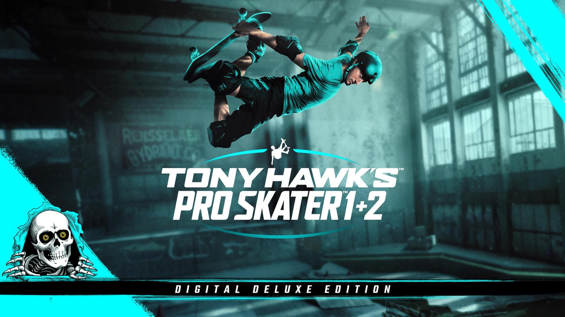Tony Hawk's Pro Skater 1+2 Deluxe Edition+DLC со скидкой, офлайн, denuvo АВТОАКТИВАЦИЯ | PC (GLOBAL ENG/MULTi) Epic Games