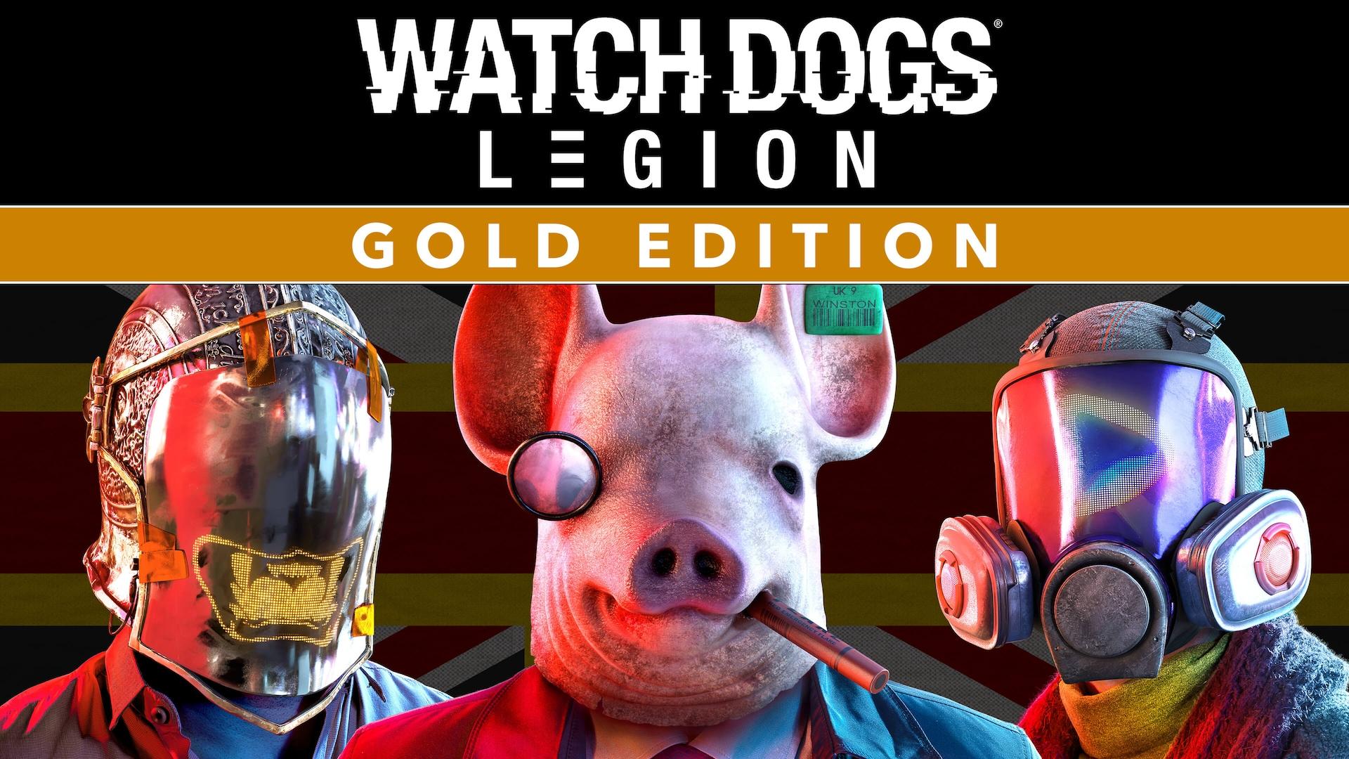 Watch Dogs: Legion Gold Edition со скидкой, офлайн, активация, denuvo [Ручная активация] (GLOBAL RUS/ENG/MULTi) Uplay
