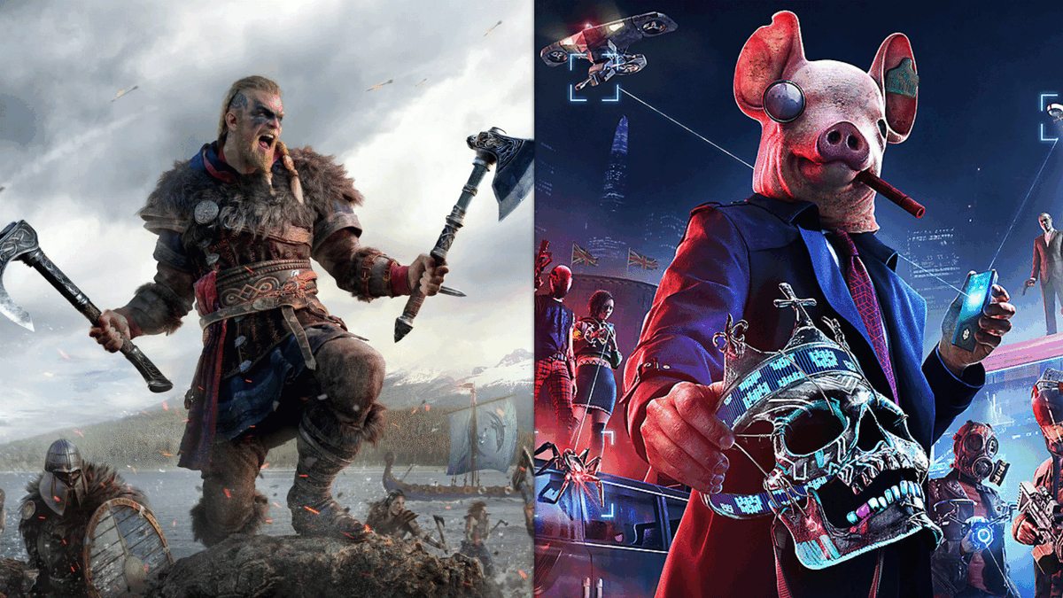 Watch Dogs: Legion+Assassin's Creed Valhalla Ultimate со скидкой, офлайн, активация, denuvo [Ручная активация] (RUS/ENG) Uplay-Ubisoft Connect